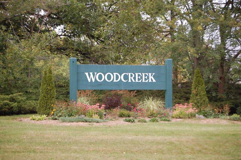 Entrance to Woodcreek